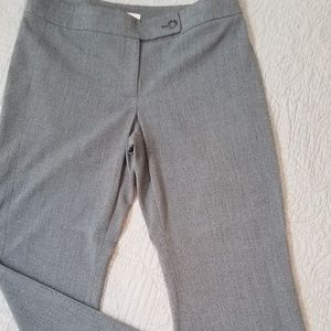 Loft charcoal gray trousers